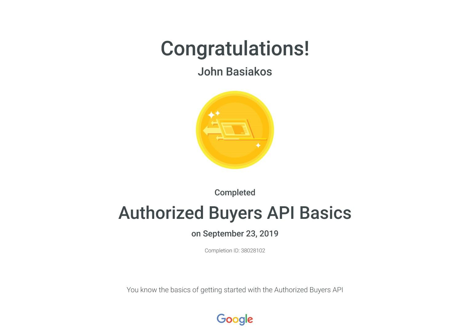 Authorized Buyers API Basics _ Google