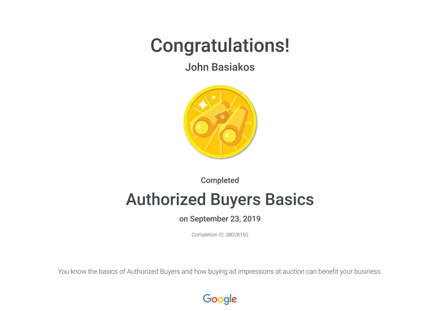 Authorized Buyers Basics _ Google