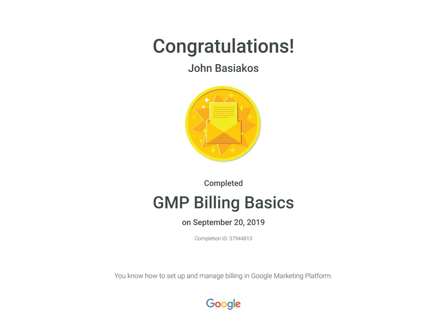 GMP Billing Basics _ Google