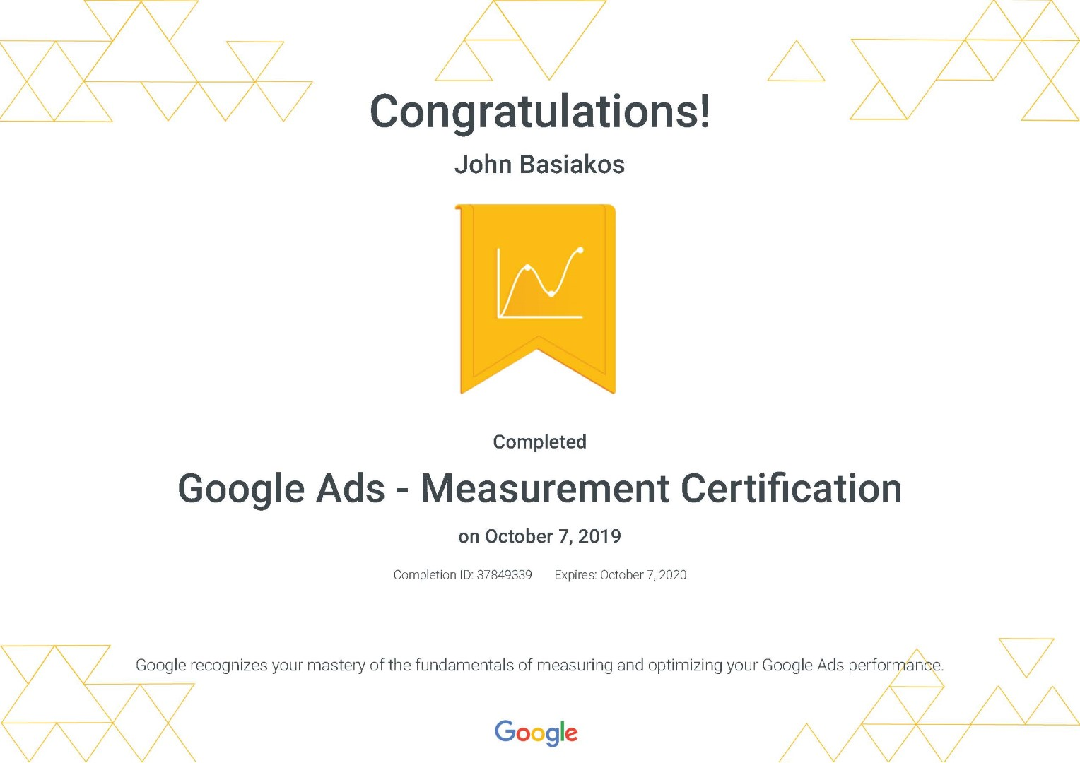 Google Ads - Measurement Certification _ Google