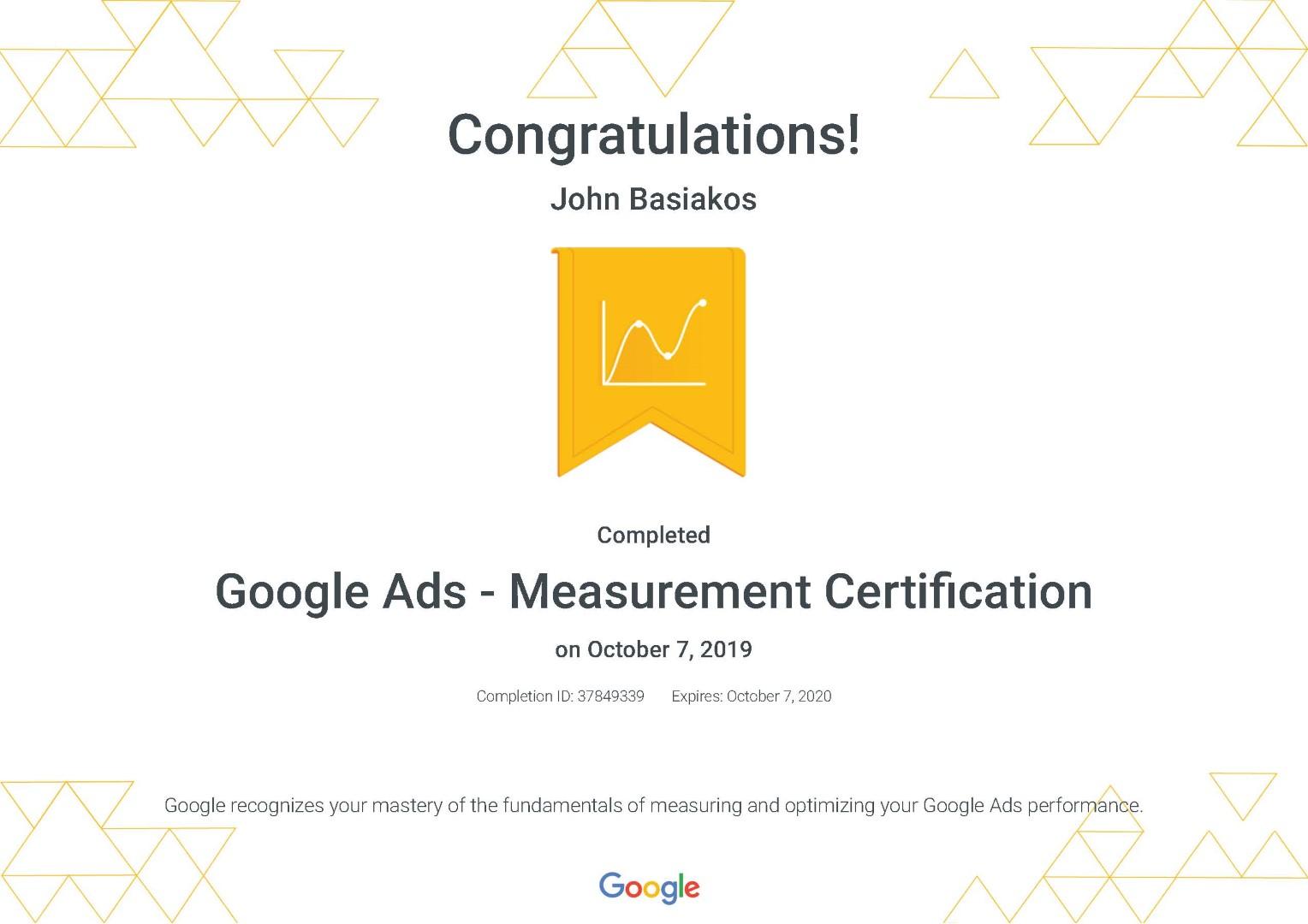 Google Ads - Measurement Certification _ Google