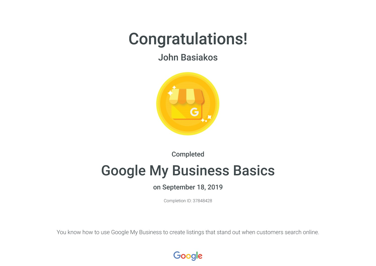 Google My Business Basics _ Google