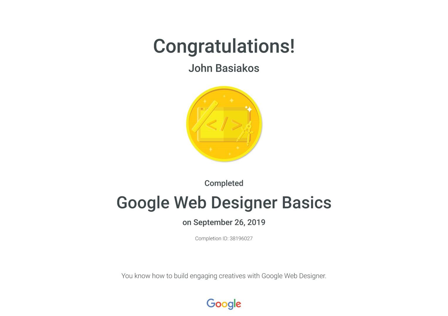 Google Web Designer Basics _ Google