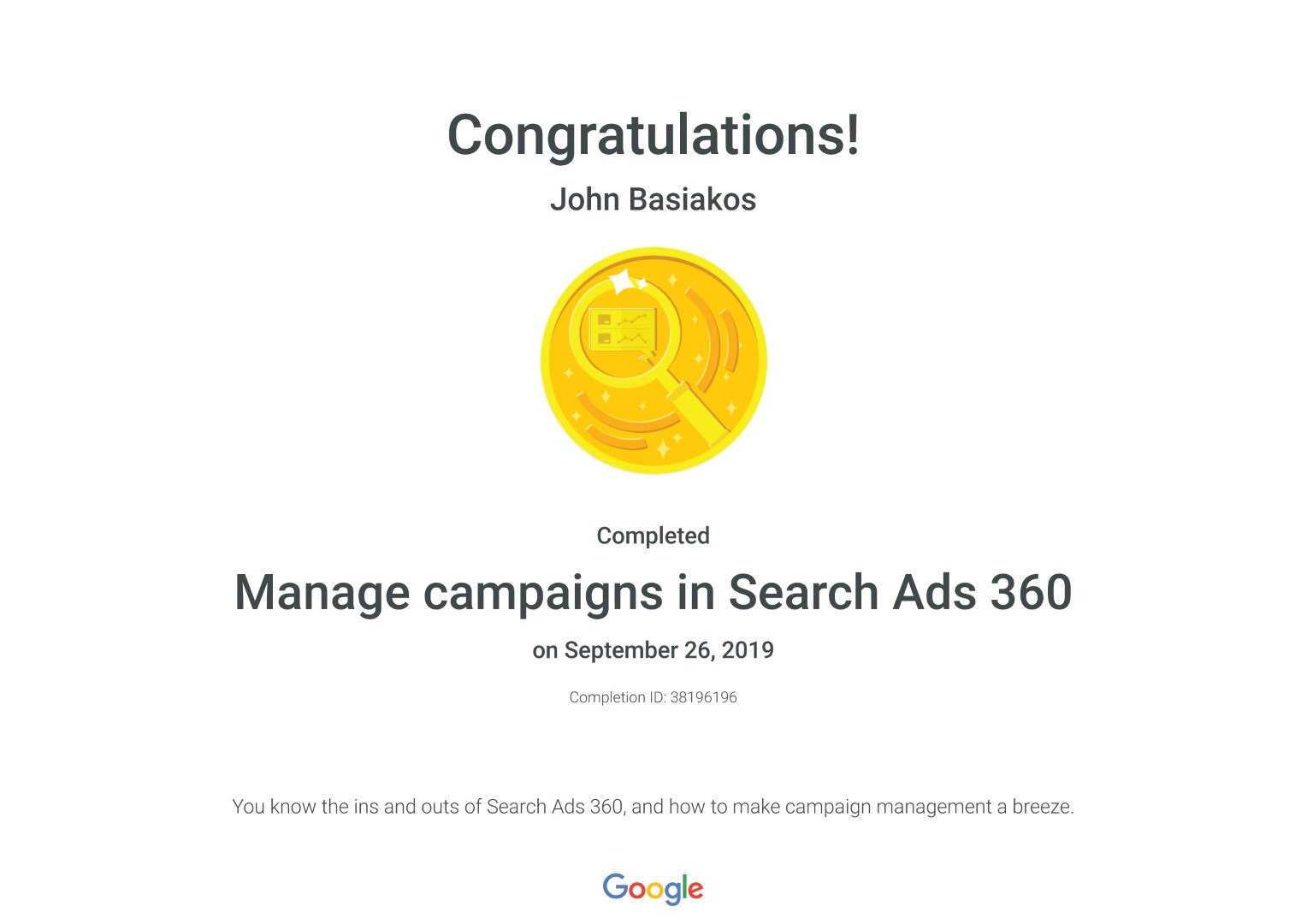Manage campaigns in Search Ads 360 _ Google