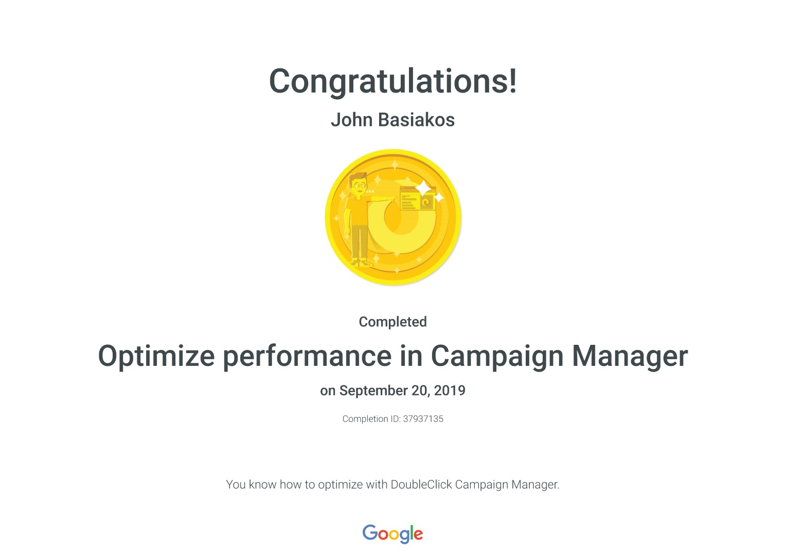 Optimize performance in Campaign Manager _ Google