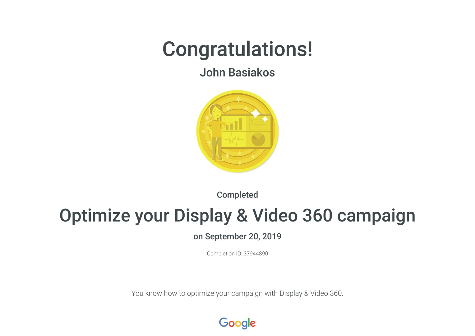 Optimize your Display & Video 360 campaign _ Google