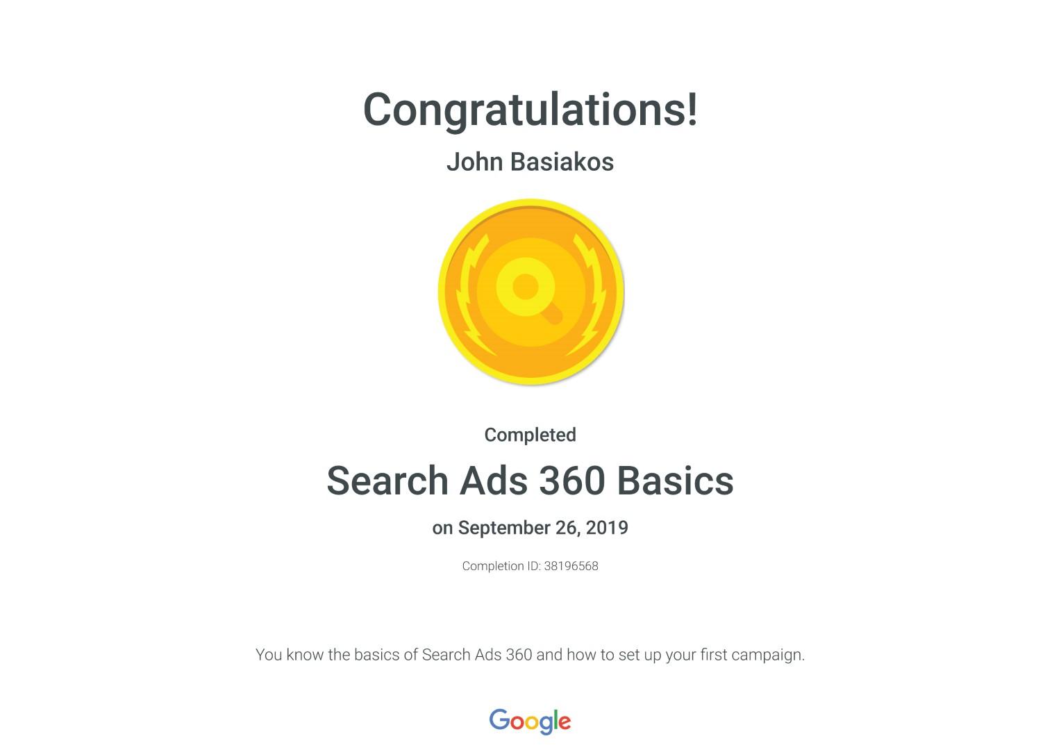 Search Ads 360 Basics _ Google